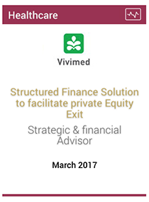 Structured finance solution for Private Equity exit