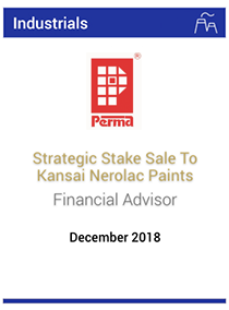 Strategic stake sale to Kansai Nerolac Paints