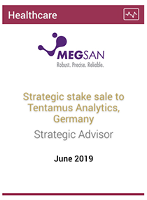 Strategic stake sale to Tentamus Analytics, Germany