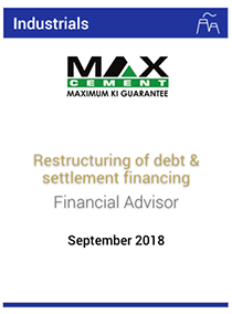 Restructuring of debt & settlement financing