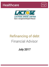 Refinancing of debt