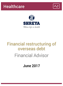 Financial restructuring of overseas debt