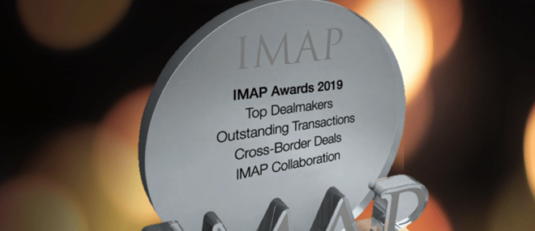 The IMAP Awards – in recognition of outstanding transactions by IMAP partners around the world in 2019