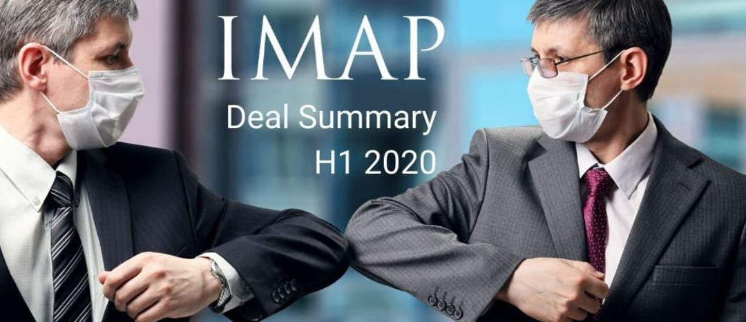 IMAP closed 73 M&A deals worth more than $2.6bn in H1 2020